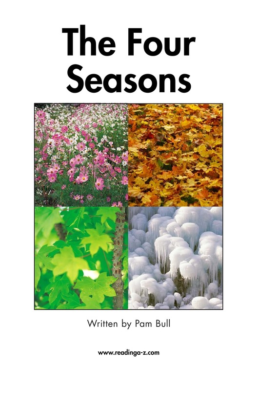 Book Preview For The Four Seasons Page 2