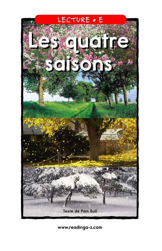 Book Preview For The Four Seasons Page 1