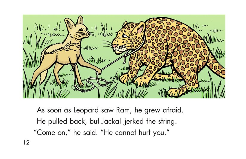 Book Preview For Leopard, Ram, and Jackal Page 12
