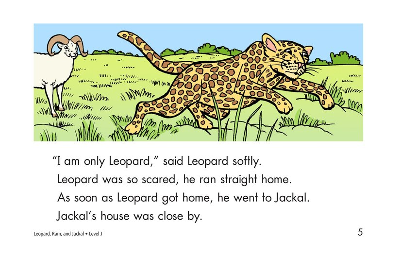 Book Preview For Leopard, Ram, and Jackal Page 5