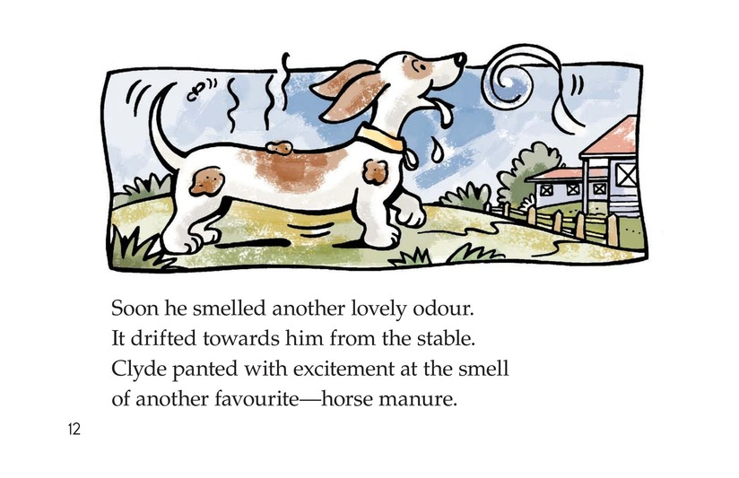 Book Preview For Smelly Clyde Page 12