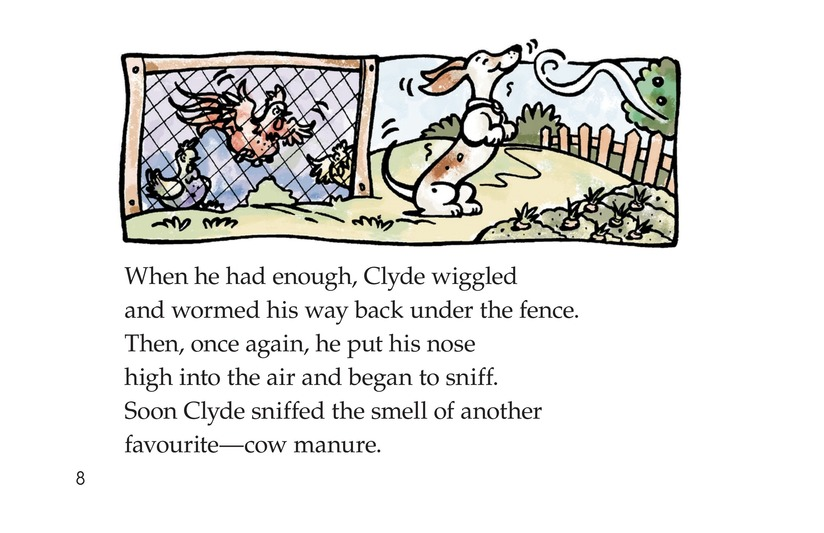 Book Preview For Smelly Clyde Page 8
