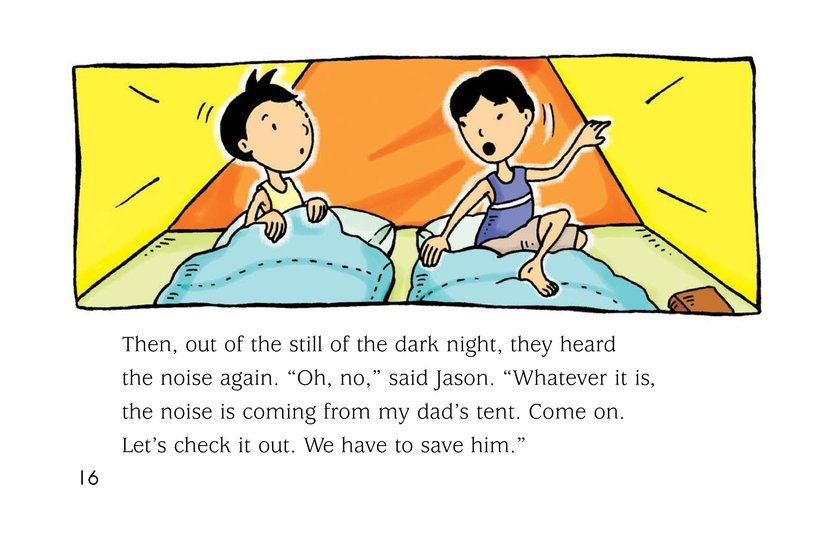 Book Preview For Noise in the Night Page 16