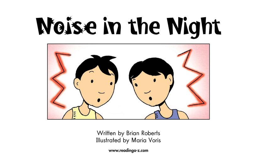Book Preview For Noise in the Night Page 2