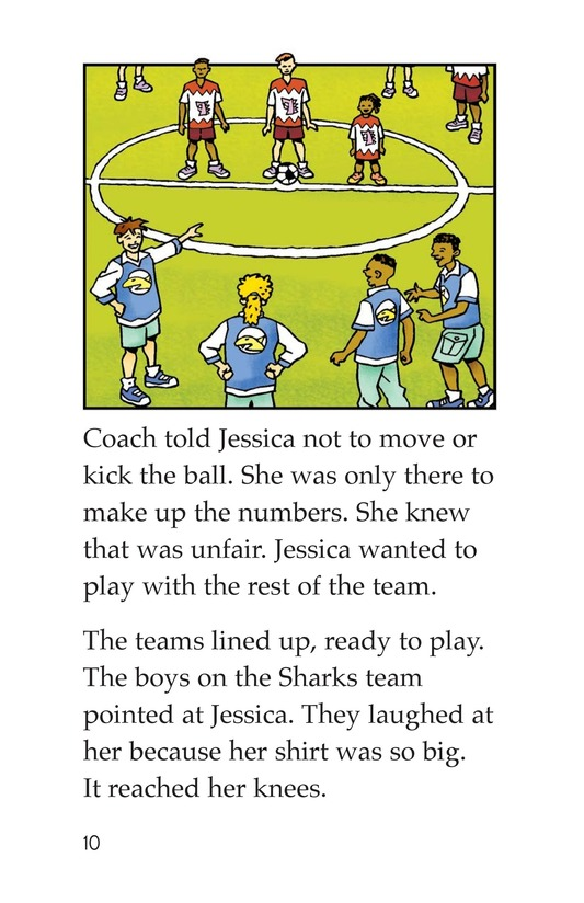 Book Preview For Jessica Loves Soccer Page 10