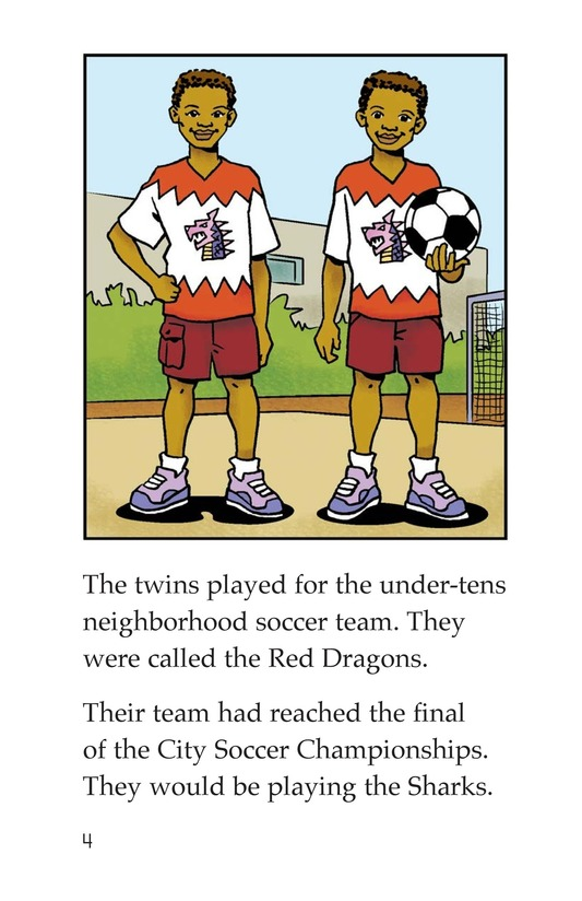 Book Preview For Jessica Loves Soccer Page 4