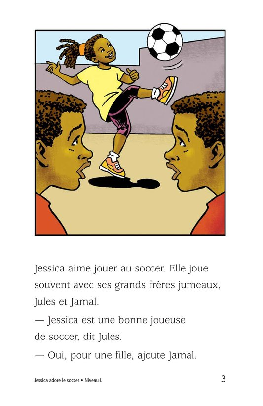 Book Preview For Jessica Loves Soccer Page 3