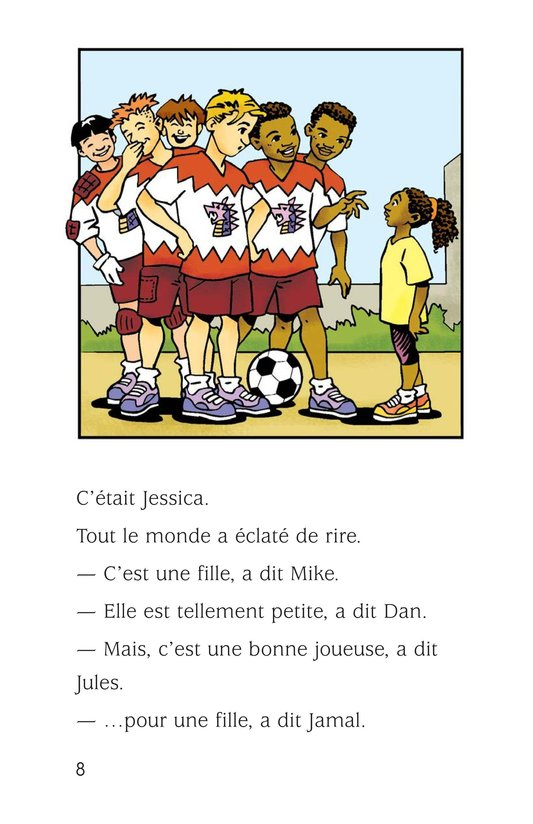 Book Preview For Jessica Loves Soccer Page 8
