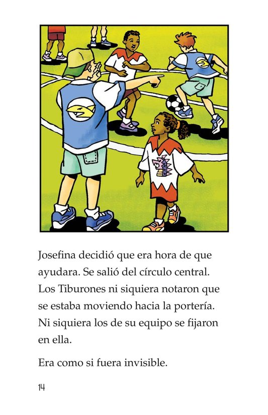 Book Preview For Jessica Loves Soccer Page 14