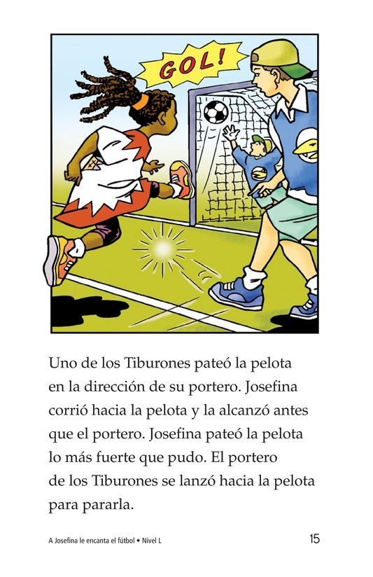 Book Preview For Jessica Loves Soccer Page 15