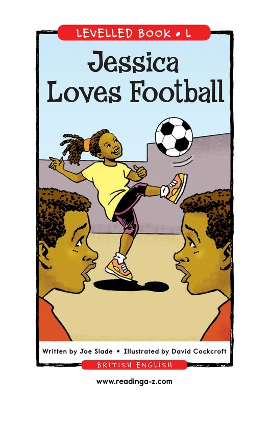 Book Preview For Jessica Loves Soccer Page 1