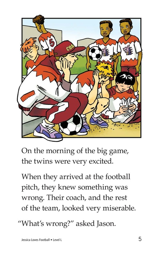 Book Preview For Jessica Loves Soccer Page 5