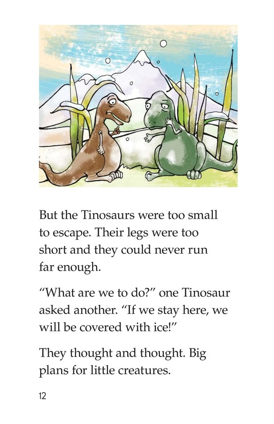 Book Preview For The Tinosaur Page 12