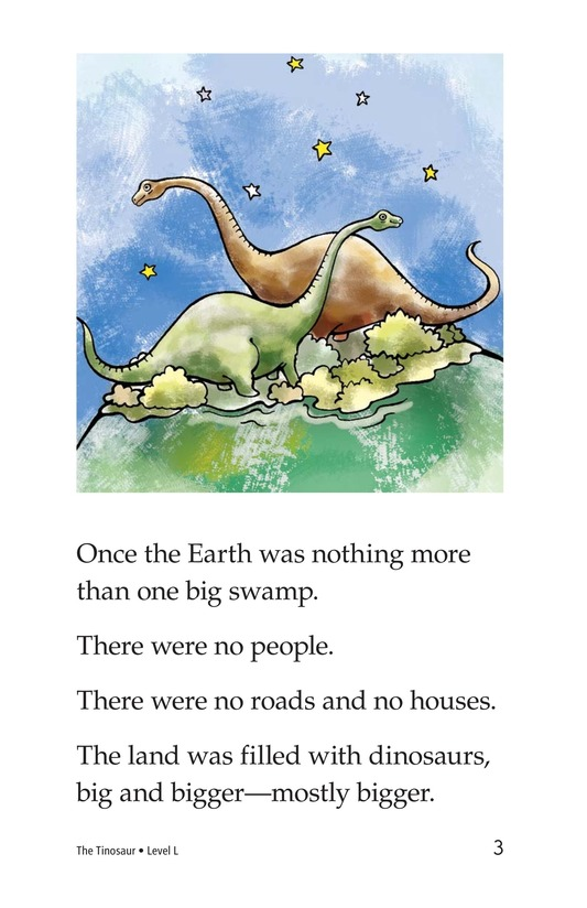 Book Preview For The Tinosaur Page 3