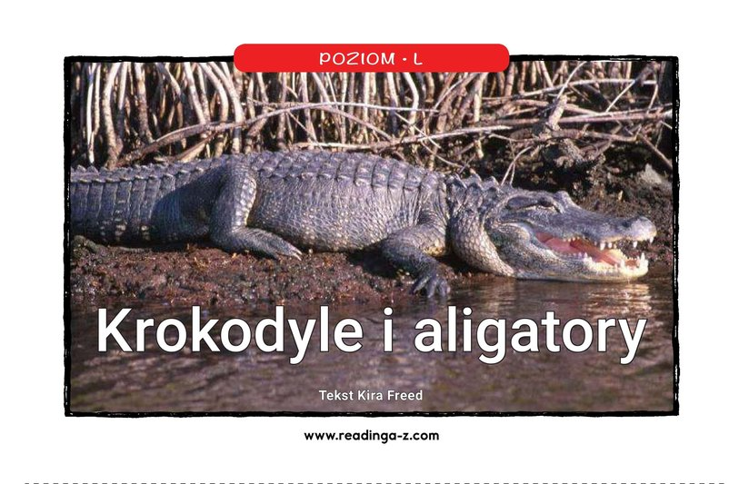 Book Preview For Crocs and Gators Page 1