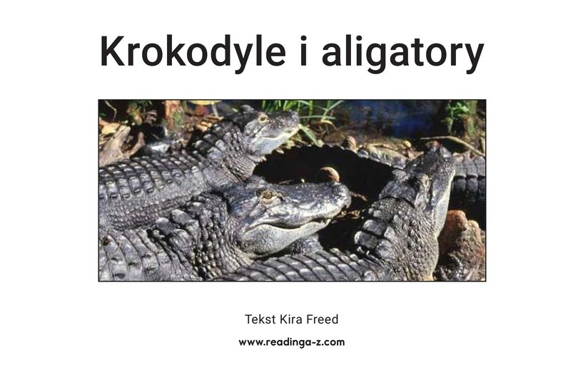 Book Preview For Crocs and Gators Page 2