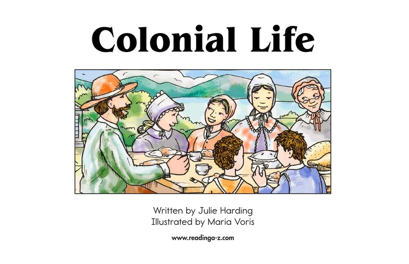 Book Preview For Colonial Life Page 2