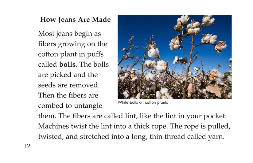 Book Preview For The Story of Jeans Page 12