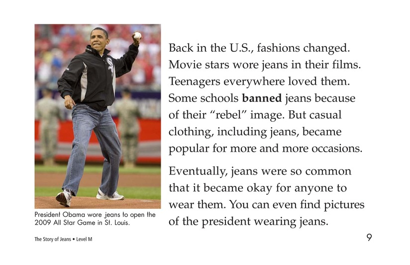 Book Preview For The Story of Jeans Page 9