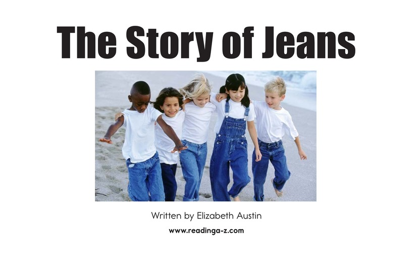 Book Preview For The Story of Jeans Page 2