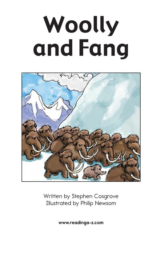 Book Preview For Woolly and Fang Page 2