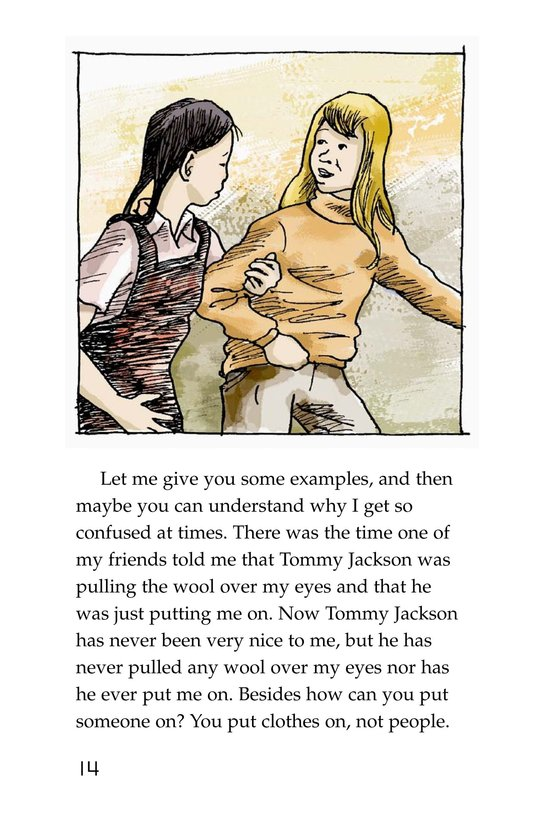 Book Preview For The Trouble with English Page 14