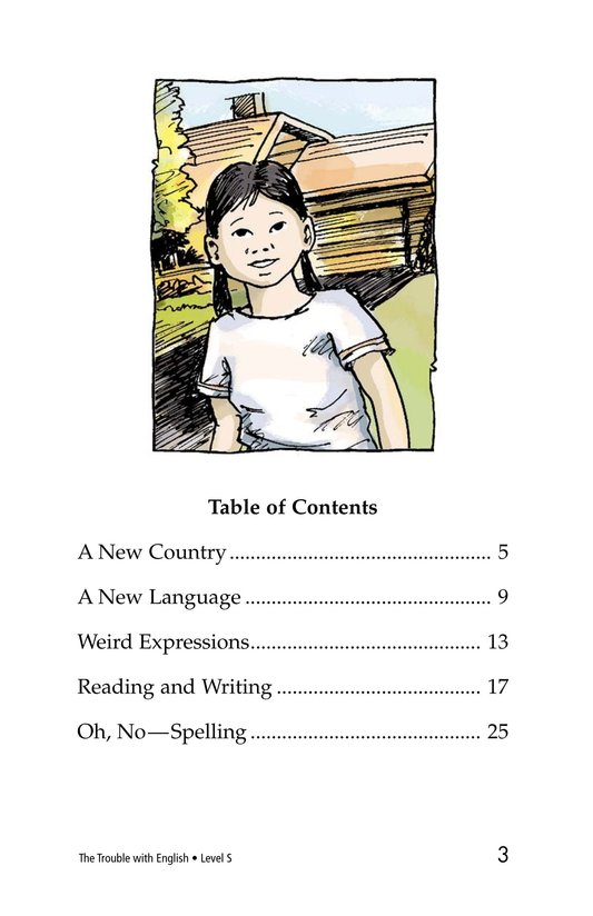 Book Preview For The Trouble with English Page 3