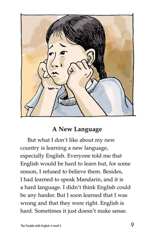 Book Preview For The Trouble with English Page 9