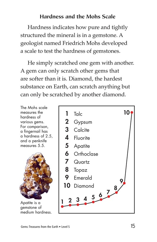 Book Preview For Gems: Treasures from the Earth Page 15