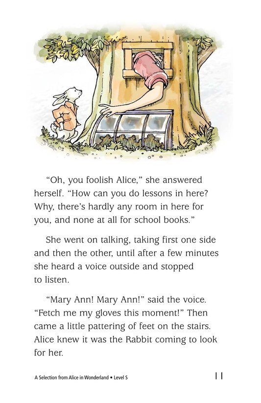 Book Preview For A Selection From Alice in Wonderland Page 11