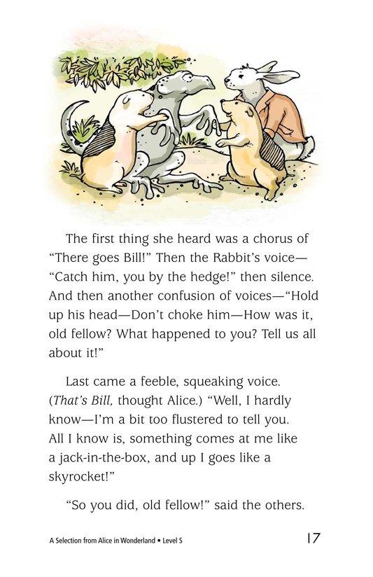 Book Preview For A Selection From Alice in Wonderland Page 17