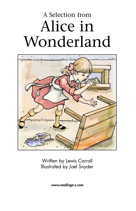 Book Preview For A Selection From Alice in Wonderland Page 2
