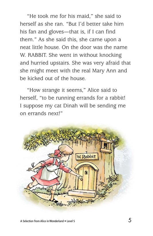 Book Preview For A Selection From Alice in Wonderland Page 5