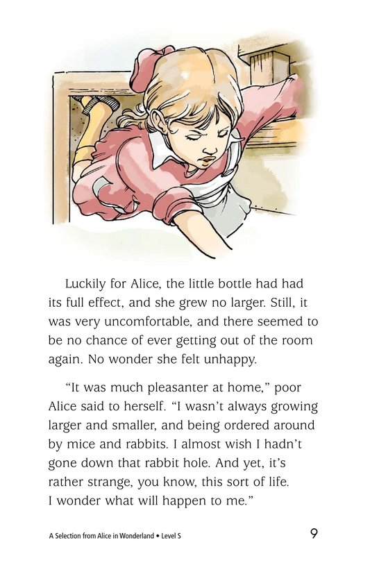 Book Preview For A Selection From Alice in Wonderland Page 9