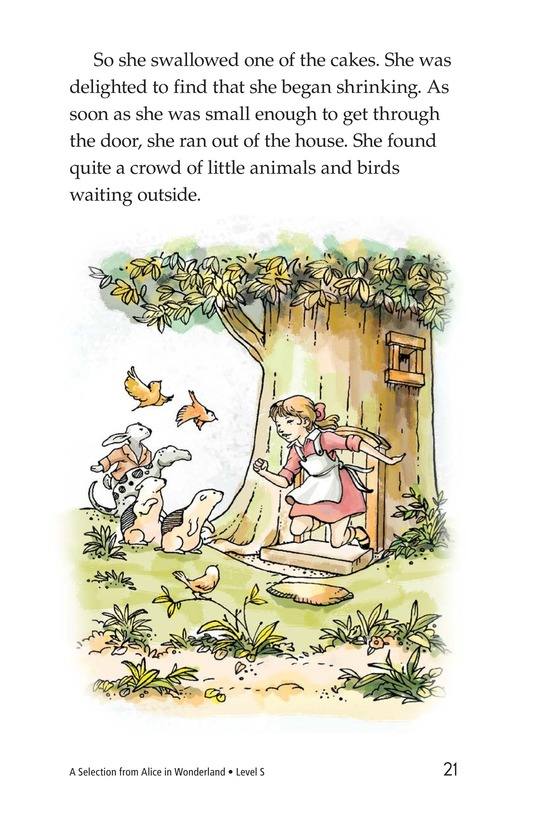 Book Preview For A Selection From Alice in Wonderland Page 21