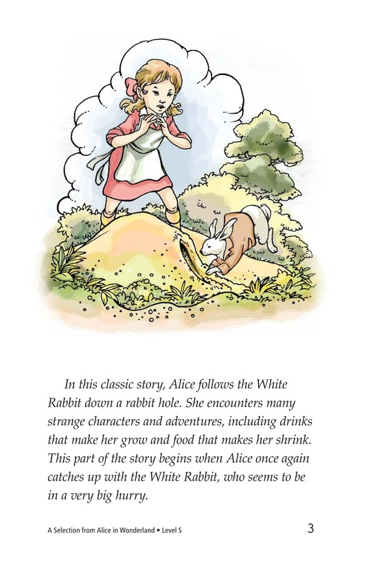 Book Preview For A Selection From Alice in Wonderland Page 3