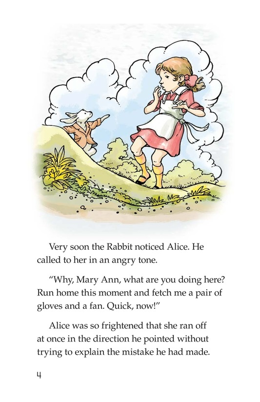 Book Preview For A Selection From Alice in Wonderland Page 4
