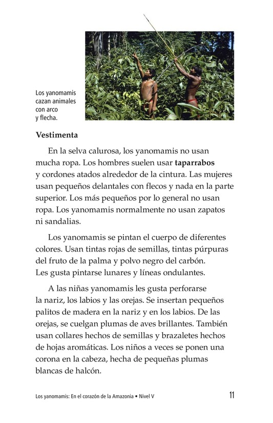 Book Preview For The Yanomami: Deep in the Amazon Page 11