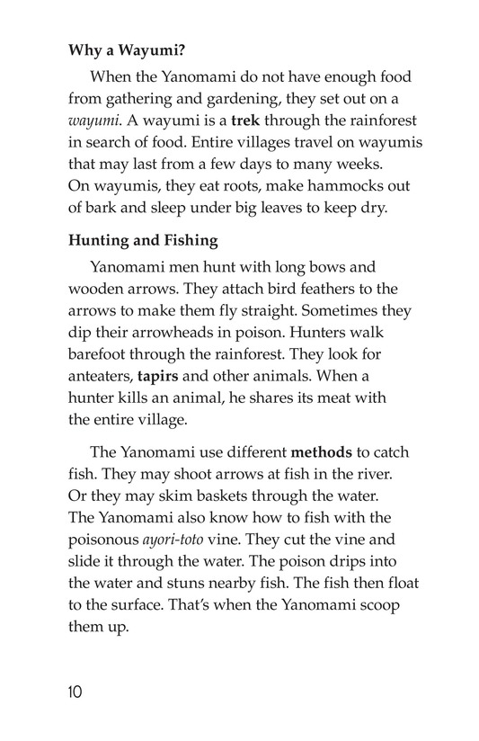Book Preview For The Yanomami: Deep in the Amazon Page 10