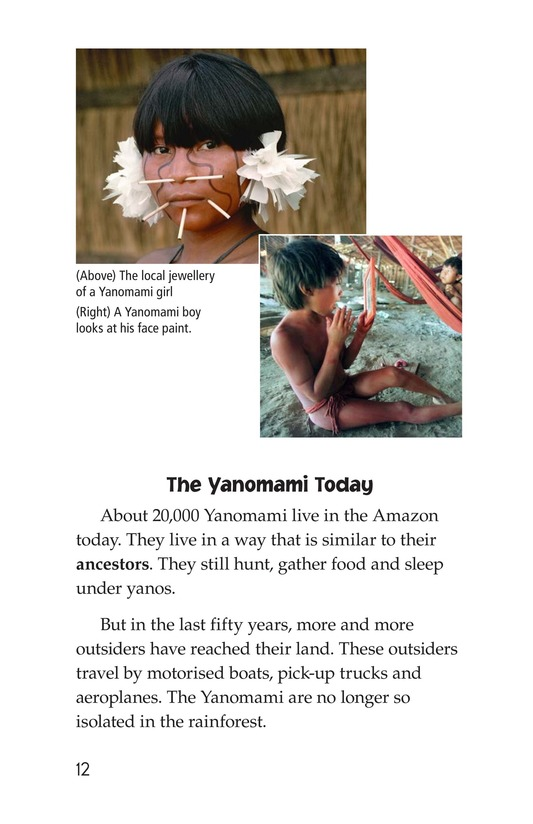Book Preview For The Yanomami: Deep in the Amazon Page 12