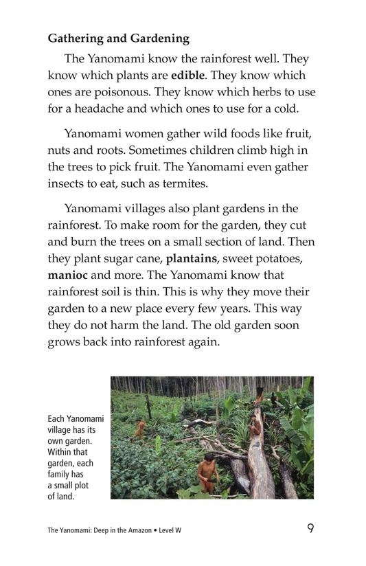 Book Preview For The Yanomami: Deep in the Amazon Page 9