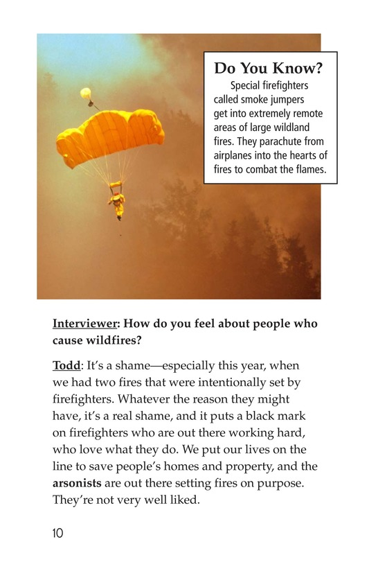 Book Preview For The Firefighter Page 10
