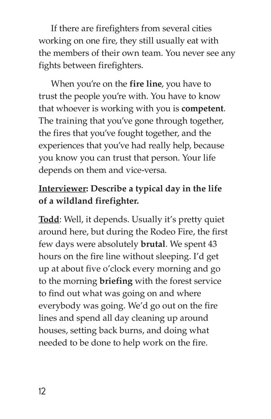 Book Preview For The Firefighter Page 12
