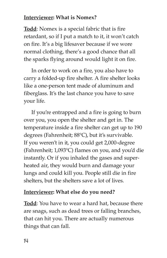 Book Preview For The Firefighter Page 14