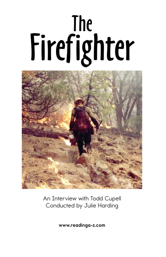 Book Preview For The Firefighter Page 2