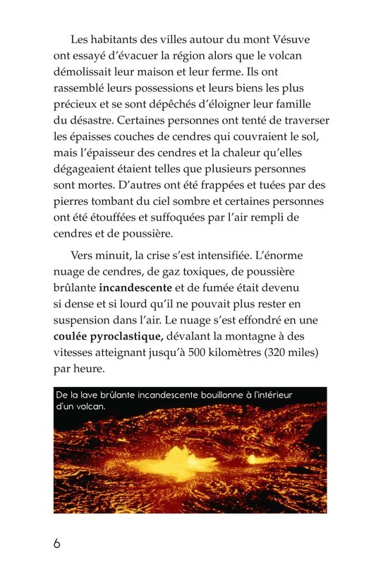 Book Preview For Volcanoes Page 6