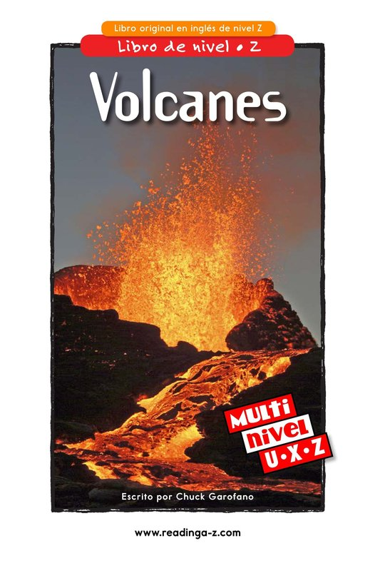 Book Preview For Volcanoes Page 1