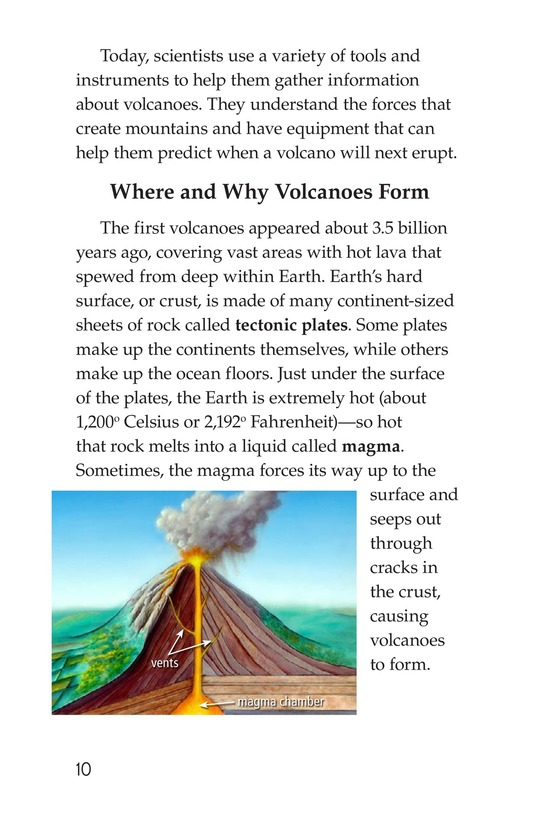 Book Preview For Volcanoes Page 10