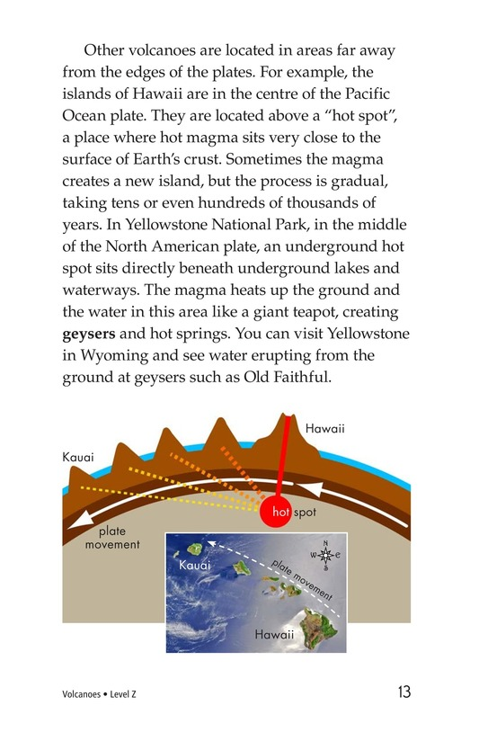 Book Preview For Volcanoes Page 13