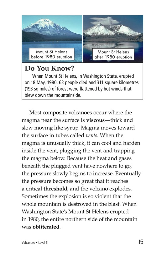 Book Preview For Volcanoes Page 15